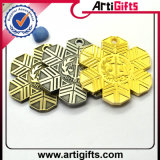Medaille de van uitstekende kwaliteit van het Metaal met Verschillend Plateren