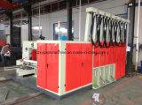 Automatische gewölbte Farben-Drucken-Maschine des Karton-drei mit Ablagefach