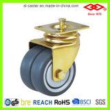 Het gele Zink Geplateerde Wiel van de Gietmachine TPR (P190-34E075X25AID)