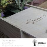 Almacenaje de madera de lujo Box_D de la visualización de Hongdao