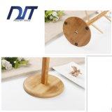 Arbre de tasse/support de cuvette/crémaillère en bois avec le caboteur rond