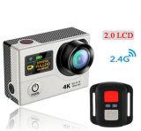 2.0 Zoll-Bildschirm WiFi 1080P 60fps 4k 25fps Minisport-Vorgangs-Kamera