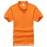T-shirts du polo des hommes au coton de 230GSM 80%