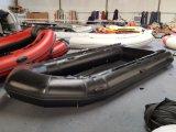 barca di 15.4FT 4.7m, peschereccio gonfiabile, nave di soccorso, barca di velocità, con il pavimento dell'alluminio e del motore esterno o il pavimento del compensato, o il pavimento della piattaforma dell'aria