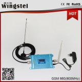 répéteur mobile à gain élevé de signal de 850MHz 3G Repeaer 27dBm 2000m2 CDMA980 avec l'affichage à cristaux liquides