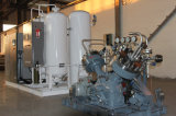 Macchina a cilindri di riempimento dell'ossigeno