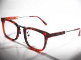 Frames óticos de mármore vermelhos elegantes por atacado de China Acenate