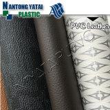 Couro artificial do PVC para a bagagem