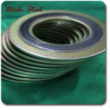 De spiraalvormige BuitenRing van Cs van Ring 304 van de Pakking van de Wond Grafiet Binnen
