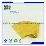 Sac en plastique de conditionnement des aliments de Doypack de tirette comique de papier d'aluminium