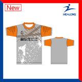 Healong spät kundenspezifisches Form Subimation T-Shirt