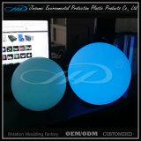 Esfera de flutuação plástica do diodo emissor de luz para o jardim da associação