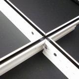 Expuesto de techo plano Groove Line Blanco Negro T Grids (SGS, 15/25mm)