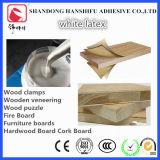 Látex de madera del blanco del pegamento de la laminación de la chapa