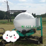 White 750mm X 25mic PE Agriculture Silage Film Bale Wrap pour le Chili