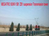 Torretta della trasmissione della sospensione di Megatro 500kv 5b1- Zb1