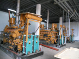 Gerador do gás de carvão do gerador da produção combinada do CHP da potência 10kw-5MW de Shandong Lvhuan