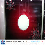 4mm/5mm/6mm konzipierten Silk Bildschirm-Glasglas/gedrucktes Glas für dekoratives Glas