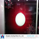 4mm / 5mm / 6mm Diseñado cristal de la pantalla de seda de vidrio / vidrio impreso de cristal decorativo