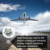 Fibra de aço do fio estirado a frio para materiais de construção do metal