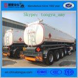 Welle der China-Fabrik-4 45000 Liter Heizöl-Tanker-Schlussteil-für Verkauf