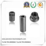 Peça personalizada OEM do alumínio da máquina do torno do CNC