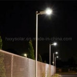 luz al aire libre integrada impermeable 15W IP65 todo en una luz de calle solar