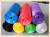 Пластичный мешок отброса Drawstring на мешке крена устранимом с Drawstring