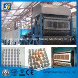 Linha de produção máquina da caixa do ovo de molde da placa do ovo