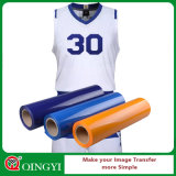 Qingyi High Flex PU Heat Transfer de vinilo para la camiseta