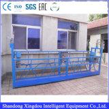 Plate-forme de travail s'arrêtante s'arrêtante extérieure de façade de nettoyage/gondole de guichet de construction