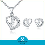 100% ручная работа девушки стерлингового серебра 925 комплект ювелирных изделий с камнями (J-0078)