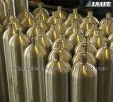 200bar継ぎ目が無いアルミ合金の圧縮空気タンク