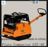 Compressor hidráulico Gyp-40 da placa da gasolina do asfalto