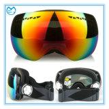 Поляризовыванные изумлённые взгляды маски двойного объектива PC катаясь на лыжах спортивный