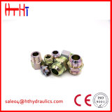 macho de 1cm/1dm-Wd Metirc 24 cones do grau/adaptador prisioneiro métrico do selo da fábrica apropriada hidráulica
