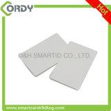 A manufatura 125kHz de China Plain o cartão de microplaqueta em branco branco do PVC