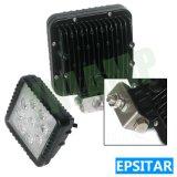 luz do trabalho do diodo emissor de luz de 4D 4.3inch 27W Epistar para o jipe SUV