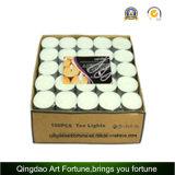 candela bianca di 10g Tealight per la decorazione domestica di cerimonia nuziale