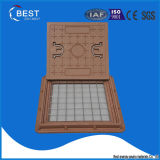 BMC Composite 20tons Square Manhole Cover met Handle