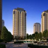 Rendição exterior da Elevado-Camada residencial com de nível elevado