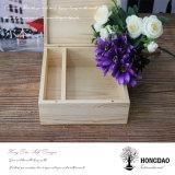 Foto de madeira feita sob encomenda de Hongdao e caixa do USB com ímã Wholesale_L