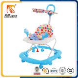 中国の販売のための8つの旋回装置の車輪を持つ有名なブランドのTianshunの赤ん坊の歩行者