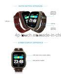 Relógio adulto do perseguidor do GPS da tela de toque com frequência cardíaca