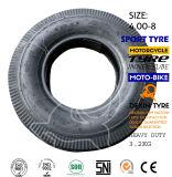 Neumático 4.00-8 de Tuk Tuk del neumático del policía motorizado del neumático tres del triciclo de Mrf