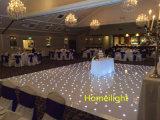 結婚披露宴またはナイトクラブの装飾のための星LEDのStarlitダンス・フロアで歩く12*12FT
