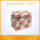 Подарка картона Cmyk коробка роскошного бумажного упаковывая