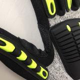 Nitriles Coated Hppe/Lycra Gloves, avec TPR&Sponge&Self-Sticker