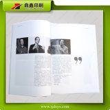 White&Black 인장 잡지 인쇄를 위한 Purete