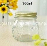 Опарник популярной формы стеклянный для меда, бутылок хранения стеклянных